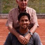Gstaad Verdasco y su abuelo