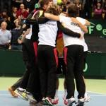 Foto Alegría del equipo alemán