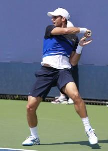 Foto Andujar en US Open 2013
