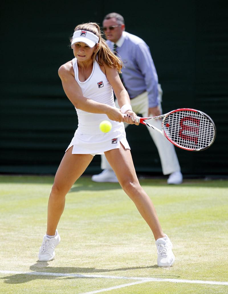 Usué  Arconada Wimbledon 2014