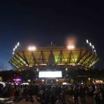 Foto Vista del estadio Artur Ashe