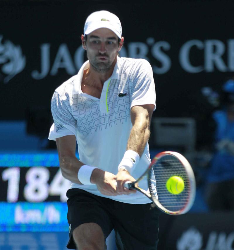 Chardy  Open Australia Viernes 17/01/2014