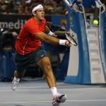 Foto Del Potro Open Australia Jueves 16/01/2014