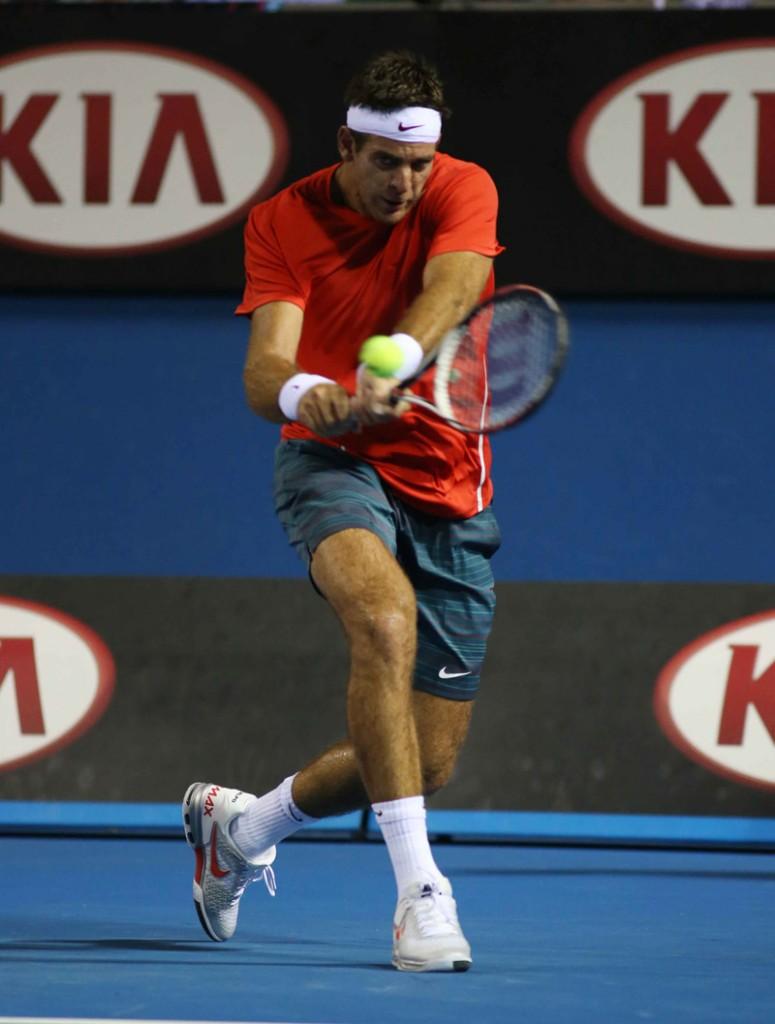 Del Potro Open  Australia Jueves 16/01/2014