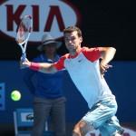Foto Dimitrov - Open-Australia- Miércoles 22-01-2014