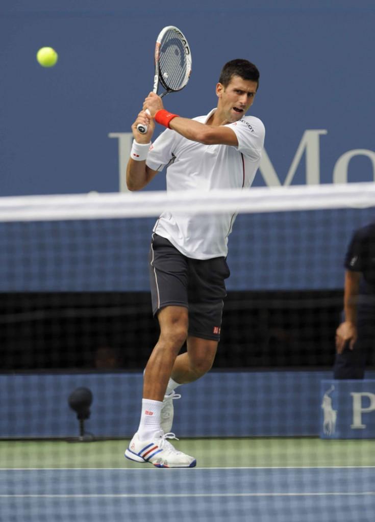 ©Gianni Ciaccia/SportVision. Djokovic
