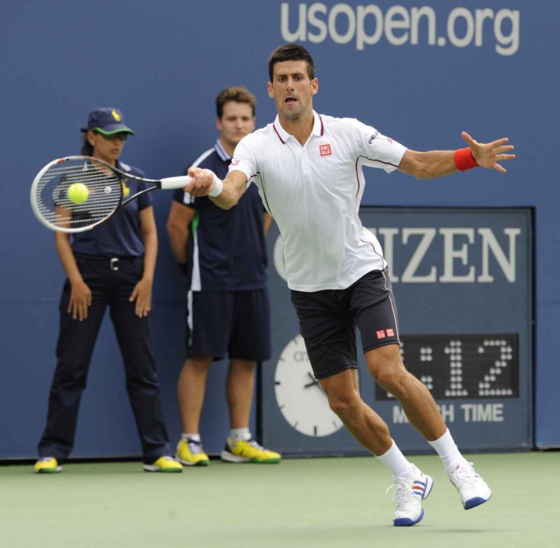 ©Gianni Ciaccia/SportVision. Djokovic.Djokovic