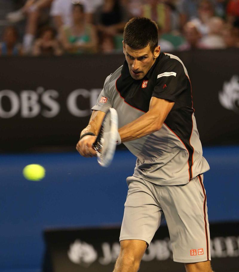 Djokovic Open Australia Viernes 17/01/2014
