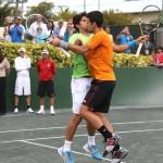 Djokovic_Verdasco_Jubo_Jump_Bump_Kiss_Drysdale_Pro_Celeb_Ritz_Art_Seitz