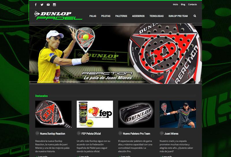 Foto Dunlop Padel Portada