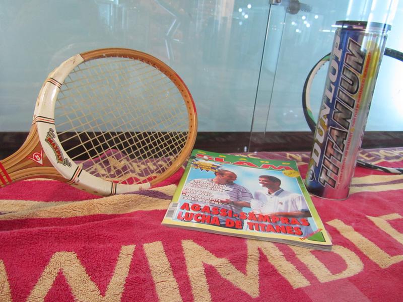 EXPO Raquetas Tiempo de Tenis