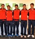foto Equipo Copa Davis España-Brasil