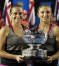 Foto Errani-Vinci - Open-Australia- Viernes 24-01-2014
