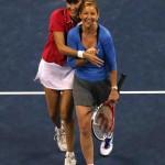 Evert y Seles US Open 2013 01 b