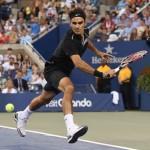 Foto Federer US Open 2014