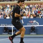 Foto Federer US Open 2014 2