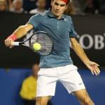 Foto Federer - Open-Australia- Viernes 24-01-2014