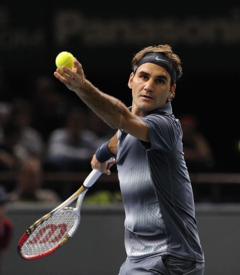 Federer R Paris Bercy 2013 01