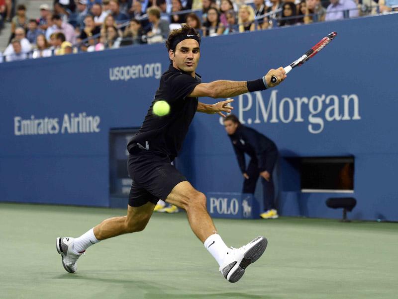 Federer R US Open 2014 01 b