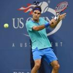Foto de Roger Federer en US Open 2014