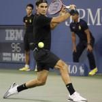 Foto de Federer en el US Open