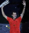 Roger Federer campeón en Shanghai