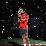 Roger Federer campeón en Shanghai 2