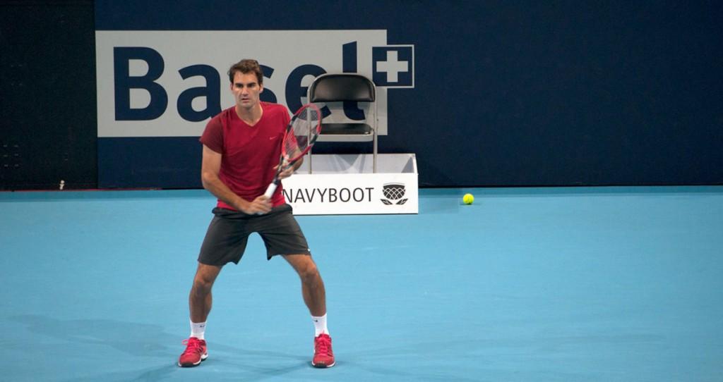 Federer Swiss Open