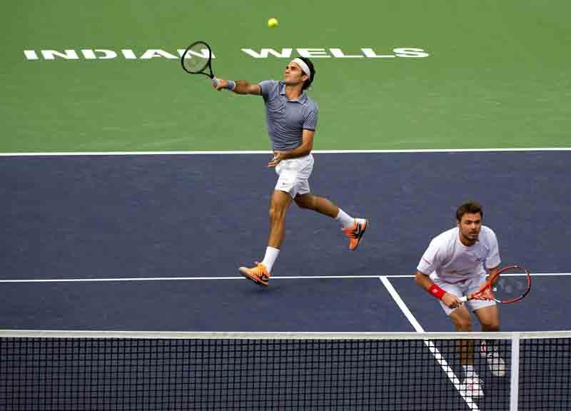 Federer-Wawrinka I Wells 2014 10 b