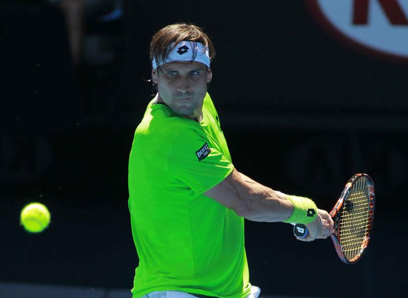 David Ferrer Open Australia Viernes 17/01/2014