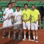 Finalistas dobles Granollers-Marc López y Benneteau - Roger Vasselin