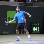 Foto Rafa Nadal vs Fognini en Miami5