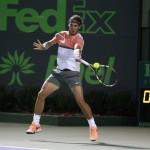 Foto Rafa Nadal vs Fognini en Miami