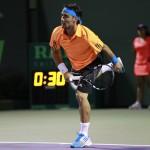 Foto Rafa Nadal vs Fognini en Miami8
