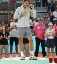 Rafa Nadal 4º trofeo en Madrid
