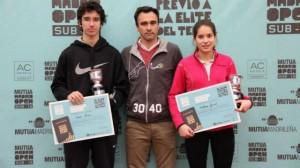 Foto Ganadores Mutua Madrid Open Bilbao