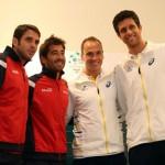 Brasil-España Equipos Dobles