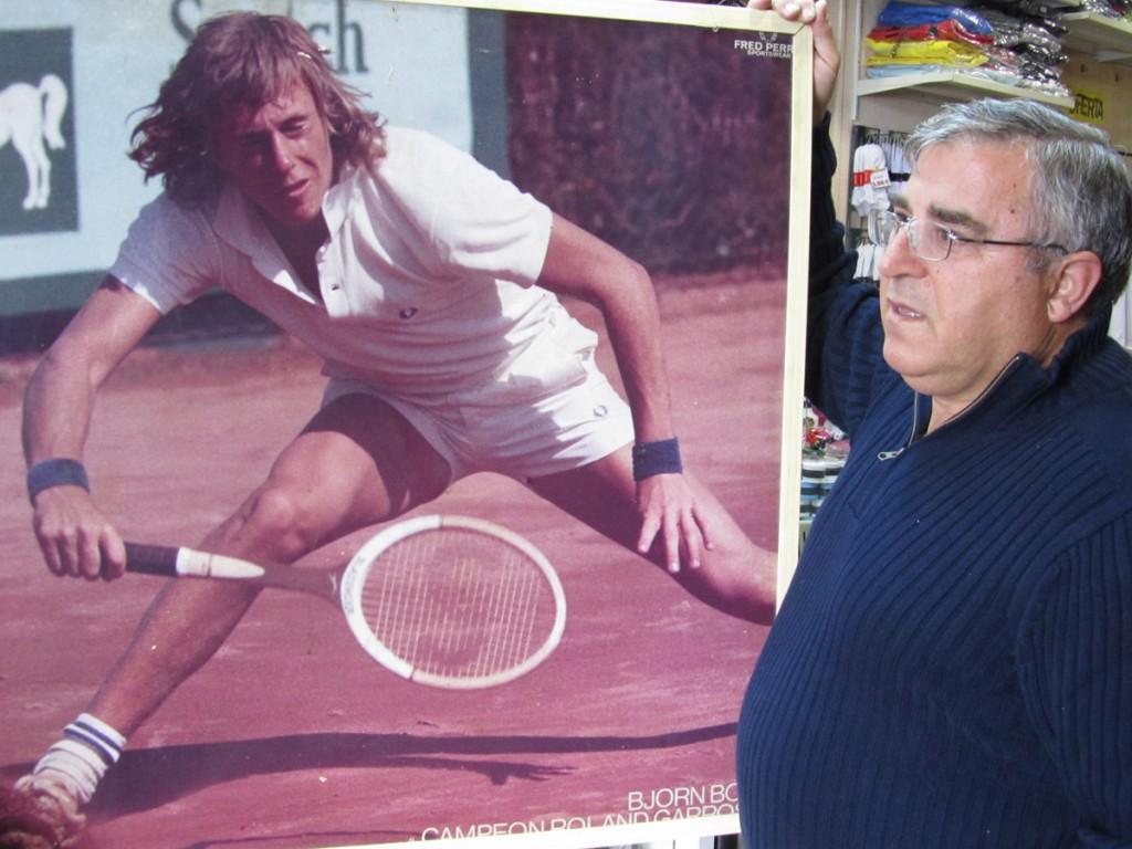 Miguel Méndez con Bjorg