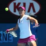 Foto Na Li - Open-Australia- Jueves 23-01-2014