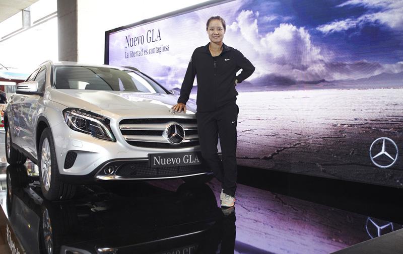 Pedro Agustín / Mercedes-Benz. Li Na_Nuevo nuevo Mercedes GLA