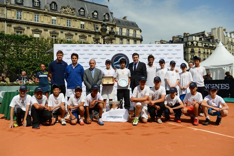 Foto Final Longines Future Tennis Aces 2013 - Award ceremony