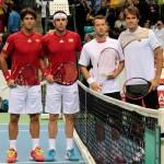 Foto Doblistas Copa Davis