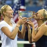 Makarova y Vesnina campeonas dobles femenino us open 2014 2