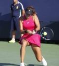 Foto de Garbiñe Muguruza en el US Open