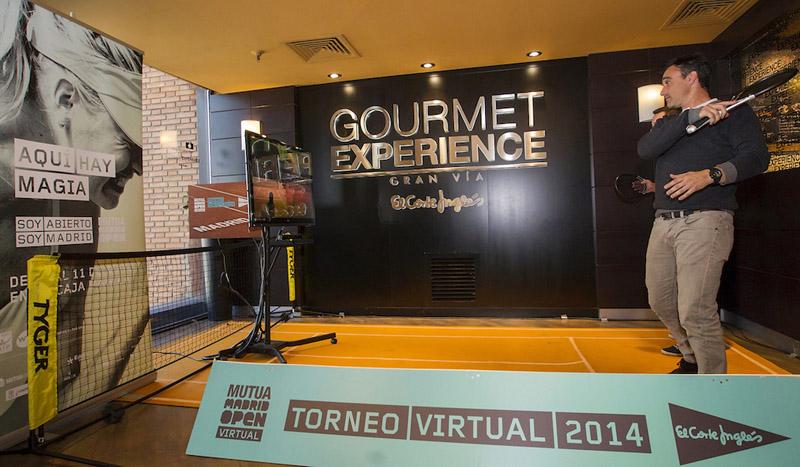 Presentación Mutua Madrid Open Torneo Virtual 2014