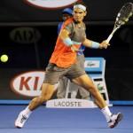 Foto Nadal Open Australia 2014