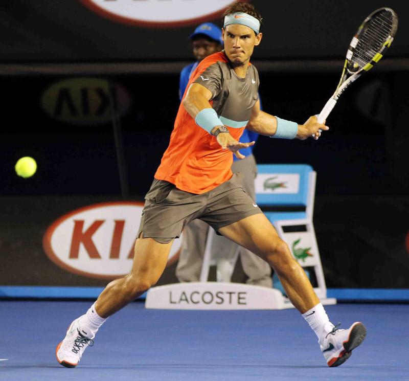 Nadal Open Australia Jueves 16/01/2014