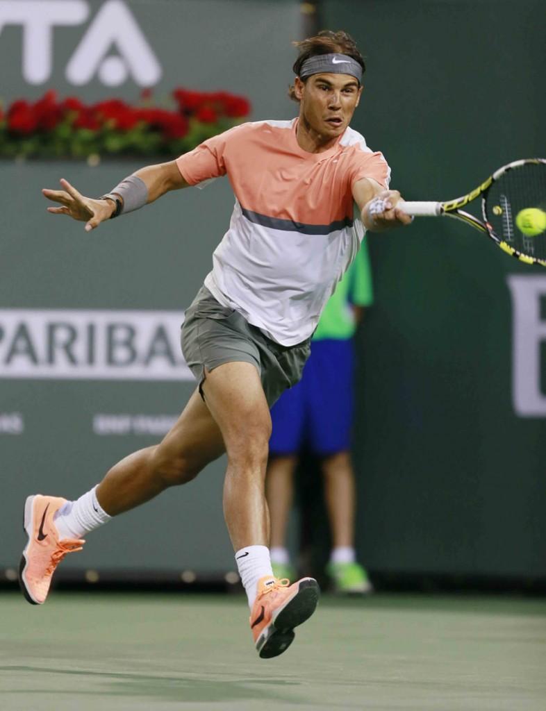BNP PARIBAS2014. Nadal Indian Wells