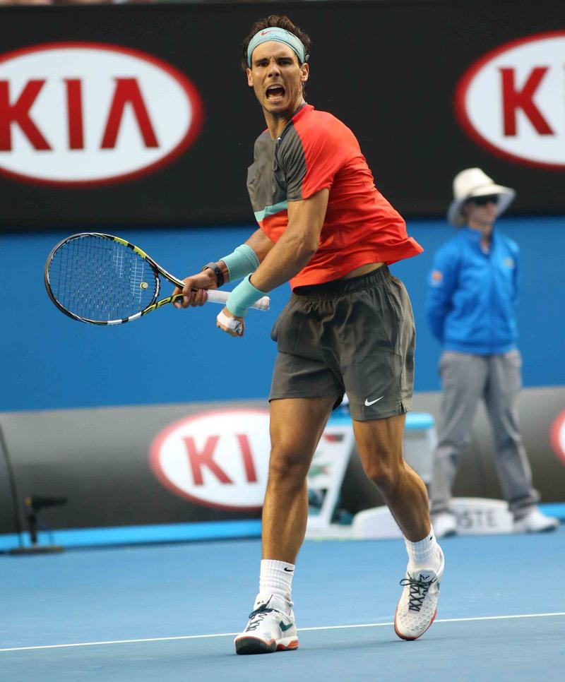 Rafa Nadal – Open-Australia- Lunes 20-01-2014