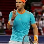 Foto de Rafael Nadal en Masters 1000 de Shanghai 2014